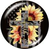 20MM Flower MOM Druckglas-Druckknöpfe
