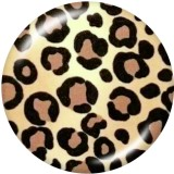 20MM   Pattern  Print   glass  snaps buttons