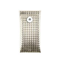18 * 9 CM sac de lunettes de soleil PU cuir balle bouche portable lunettes étanches sac de rangement ajustement 18 & 20mm bouton pression sanp bijoux