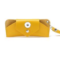 Lunettes de soleil résistantes à la compression, boîte de miroir, sac de lunettes personnalisé, sac de boîte de lunettes de soleil myopie fit 18 & 20mm snap buttom bijoux sanp
