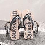 2 Knöpfe Flip-Flops Hausschuhe lässige Persönlichkeit Outdoor-Trend Strandschuhe fit18 & 20MM schnappt Schmuck
