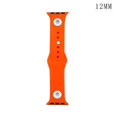 42 / 44MM Applicable à la gamme complète de bracelets de montre Apple disponibles Bracelet de montre en silicone monochromatique de couleur unie en TPU