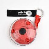 Ultrakleine tragbare faltbare versenkbare Aufbewahrungstasche Multifunktionale kleine Disc-Einkaufstasche für 18-mm-Druckknopfschmuck