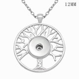 Tree of life Necklace 46cm chain fit 12MM chunks snaps jewelry