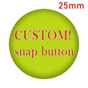 Kundenspezifisches 25MM Glas Cabochon verschiedene bedruckte Glas