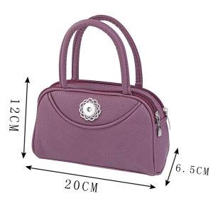 Mode Reißverschluss Handtasche ausgehen Handy Münzgeldbörse passen 18mm Stücke