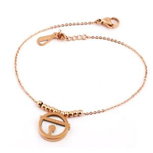 Stainless steel shell bracelet LOVE couple bracelet