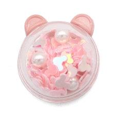 20MM Cartoons  Bear rabbit  shining  Resin snap buttons