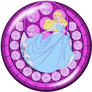 20MM Cartoon Prinzessin Drucken Sie die Druckknöpfe aus Glas
