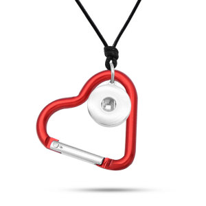 Love hook necklace  chain adjustable  fit 20MM chunks snaps jewelry
