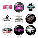 Painted metal Painted metal 20mm snap buttons  snap buttons  MOM  Print