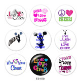 Painted metal Painted metal 20mm snap buttons  snap buttons  Dance  Print
