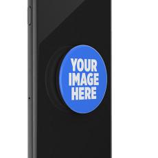 Prise de téléphone portable peinte avec base à motif personnalisé imprimé noir ou blanc