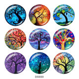 Painted metal Painted metal 20mm snap buttons  snap buttons   Tree   Print