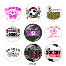 Painted metal Painted metal CHEER 20mm snap buttons  snap buttons  MOM  Print