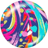 Painted metal 20mm snap buttons   pattern  Print
