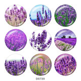 Painted metal Painted metal 20mm snap buttons  snap buttons   Flower   Print