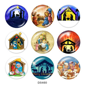 Painted metal Painted metal 20mm snap buttons  snap buttons  Christmas  Family   Print