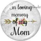 Painted metal Painted metal 20mm snap buttons  snap buttons  Family  MOM  Print