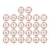Boutons pression en métal peint 20 mm Alphabet 26 mots boutons pression interchangeables bijoux