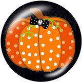Boutons pression 20 mm en métal peint Imprimé Halloween