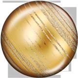 Boutons pression 20 mm en métal peint Boule de Noël Imprimer