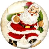 Boutons pression métal peint 20 mm Noël