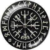 Boutons pression 20 mm en métal peint Symbol Print
