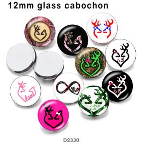 10 шт. / Лот олень стекло изображение полиграфическая продукция различных размеров магнит на холодильник кабошон