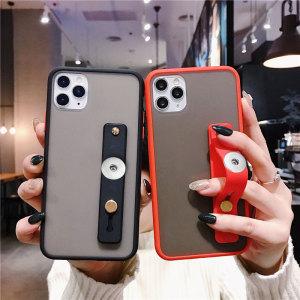 Support de téléphone portable créatif silicone push-pull support de bague paresseux bâton support de téléphone portable ajustement 20 MM morceaux s'enclenche bijoux