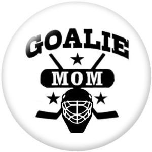 Hockey The mobile phone holder Painted phone sockets with a black or white print pattern base