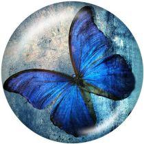 Butterfly Le support de téléphone portable Prises de téléphone peintes avec une base à motif imprimé noir ou blanc