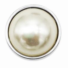 Кнопки 18 мм с имитацией жемчуга