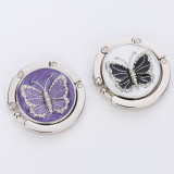 Butterfly painting oil bag hook can be externally hanging decorative bag hanging
