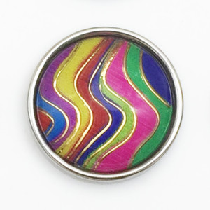 18MM snap colourful Resin  snap buttons