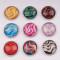 Кнопки с красочными кнопками из смолы 18 мм