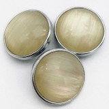 18MM snap Imitation pearls snap buttons