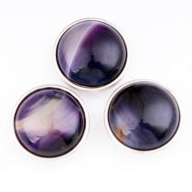 Кнопки 18ММ Натуральный камень бирюзовые кнопки