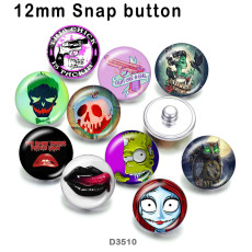 10pcs/lot  Lips  glass  picture printing products of various sizes  Fridge magnet cabochon