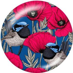 Сажать цветы Держатель для мобильного телефона Телефонные розетки с росписью на основе черного или белого принта