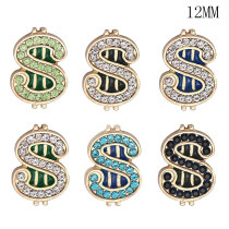Butterfly boots argent Faith12MM snap plaqué argent snaps interchangeables bijoux