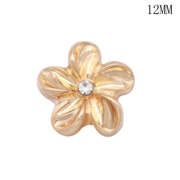 Flowers camera buddha12MM snap silver plated  interchangable snaps jewelry