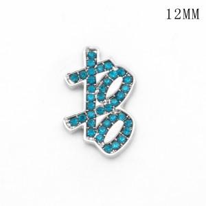 XOXO 12MM snap silver plated  interchangable snaps jewelry