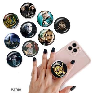 Гарри Поттер Держатель для мобильного телефона Окрашенные телефонные розетки с черным или белым принтом на основании