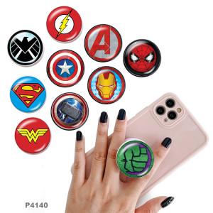 Marvel Anime Heroes Der Handyhalter Lackierte Telefonbuchsen mit schwarzem oder weißem Druckmusterboden