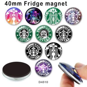 10pcs / lot Starpugs Kaffeeglasbilddruckprodukte in verschiedenen Größen Kühlschrankmagnet Cabochon
