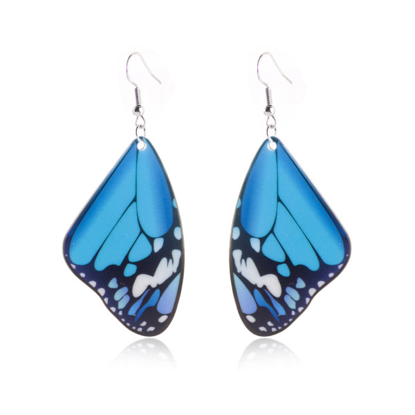 Acryl Schmetterling Ohrringe 316L Edelstahl Ohrhaken