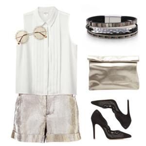 Geometrische Mode dünnes Kettenarmband Damen farblich passendes Lederarmband mit Schnalle