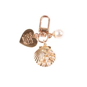 Nette Liebe Shell Schlüsselbund Kreative Kleine Geschenke Ins Metallschmuck Perle Anhänger Airpods Anhänger