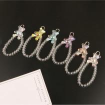 Perlenarmband Netter sitzender Bär Auto Schlüsselanhänger Fantasy Bär Armband Anhänger